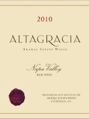 Altagracia by Araujo 2011 Label
